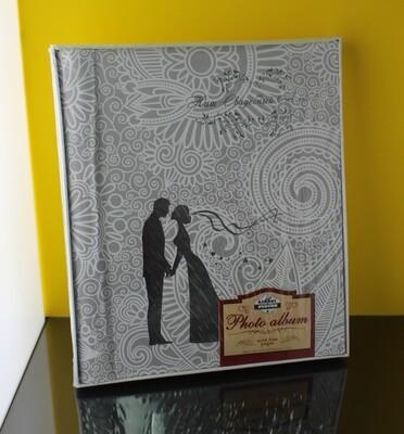 Свадебный фотоальбом в кейсе, магнитные страницы