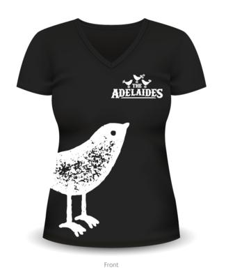 The Adelaides Bird Ladies T-Shirt- Black