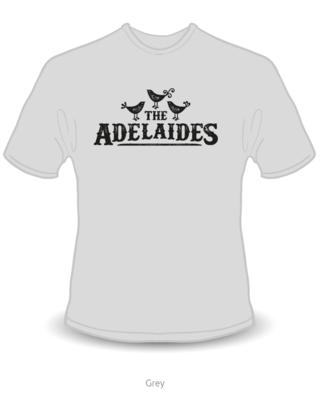 The Adelaides Unisex T-shirt- Grey