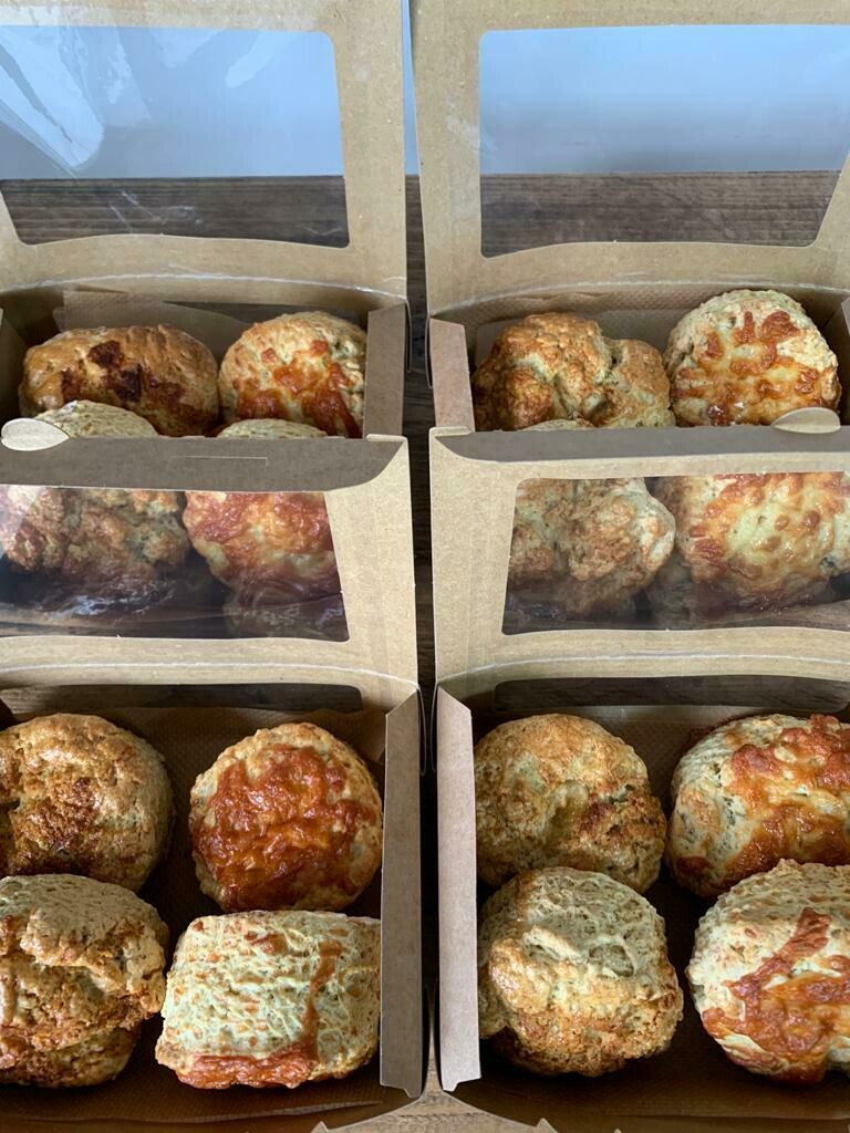 Cheese Scone box
