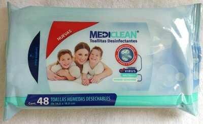 Toallita Desinfectante paquete Familiar con 48 servicios