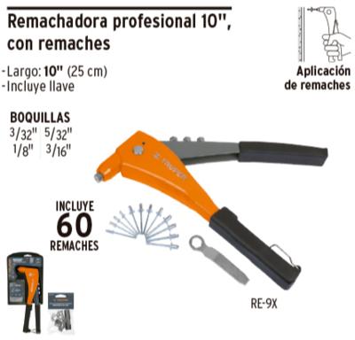 Remachadora profesional 10