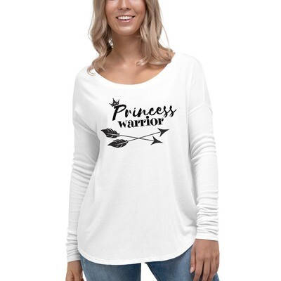 Princess Warrior relaxed long sleeve tee
