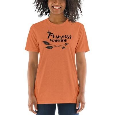Princess Warrior Women's soft and flowy short sleeve t-shirt