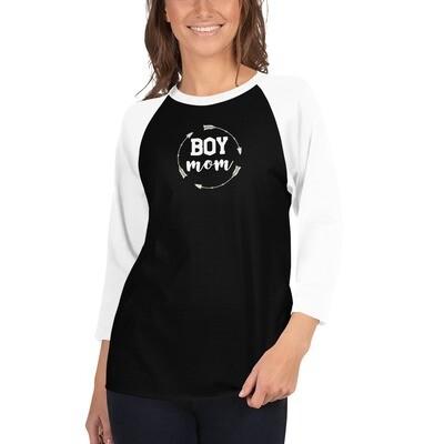 """""""Boy Mom"""" Tee"""