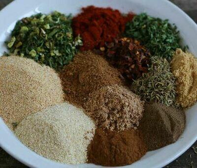 "Island Jerk Spice "" Low Salt "" Blend"