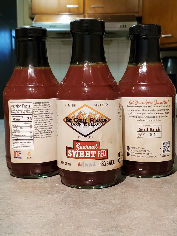 Gourmet Sweet Red BBQ Sauce