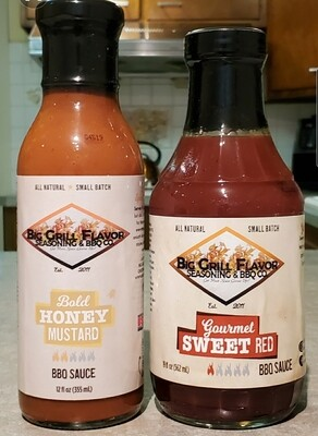 Twin Pack BBQ Sauce