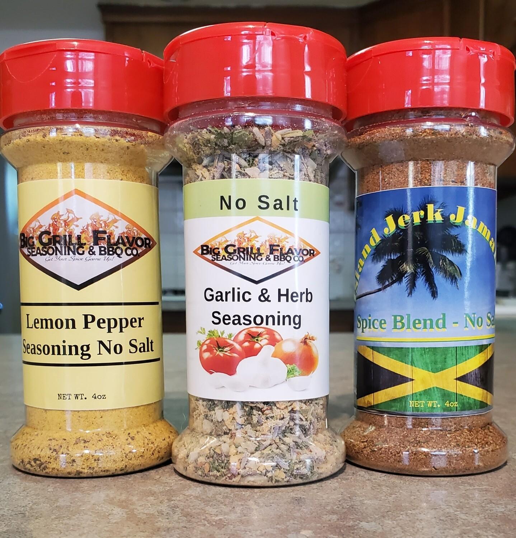 No Salt Seasoning Set