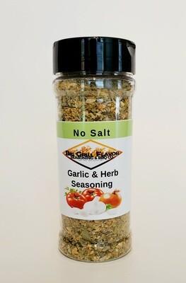 """Garlic and Herb """"No Salt"""" Seasoning Blend"""