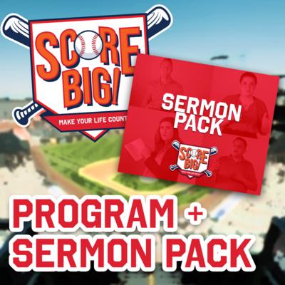 Score Big Program + Sermon Pack