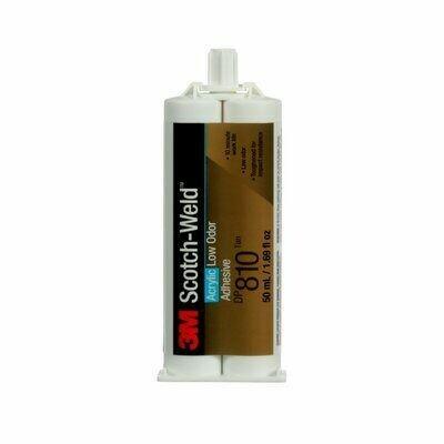 3M ™ Scotch-Weld ™ Adhesivo Acrílico de Poco Olor DP810, 50 ml, 12 por caja