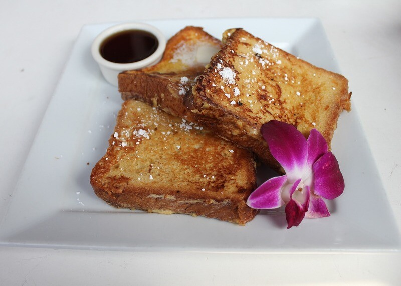Les Quatre French Toast