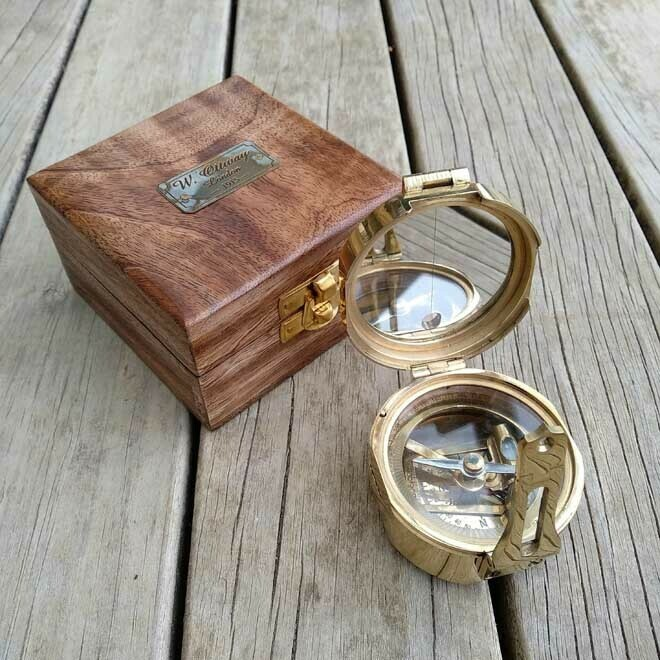 Brunton Compass - Natural Wood