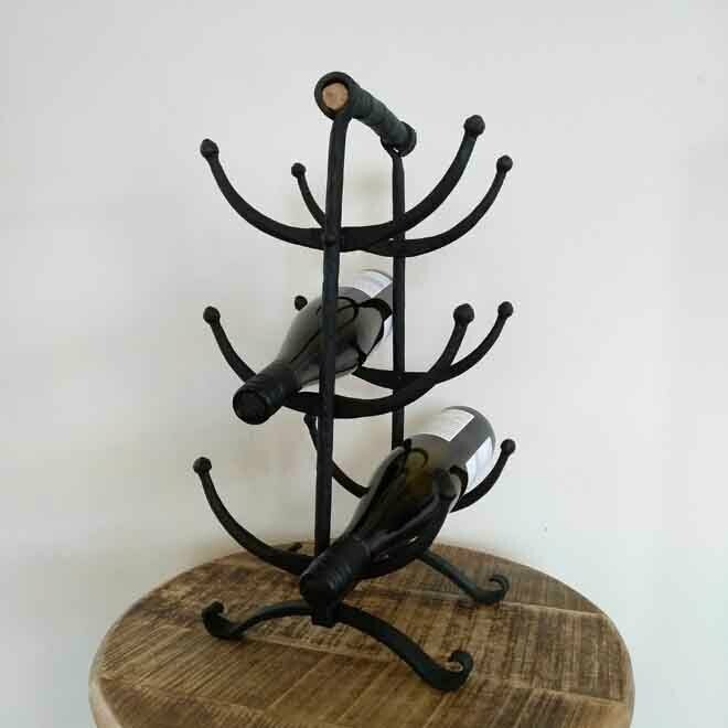 Scroll Wine Rack - Standing