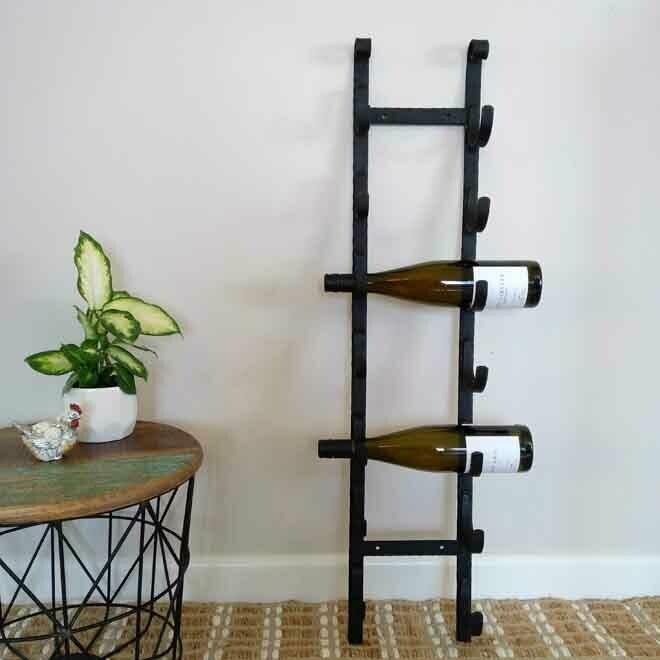 Scroll Wine Rack - Wall Mounted
