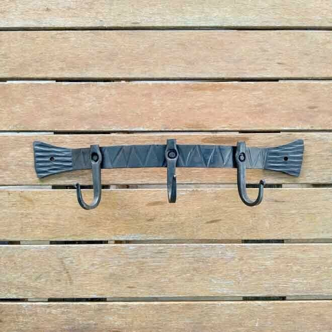 Curved Wall Rack - 3 Hook