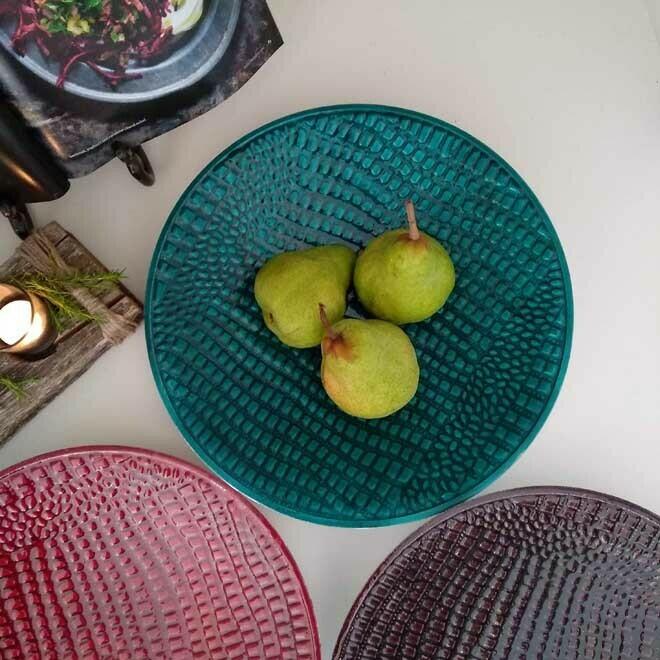 Textured Platter - Round