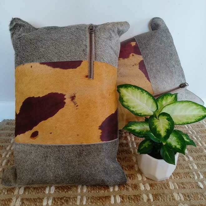 Textured Cushion - Rec