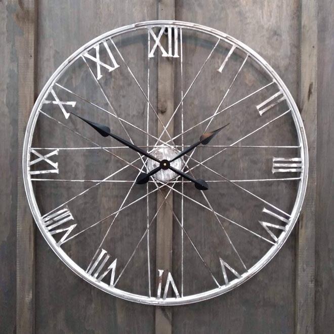 Bicycle Rim Clock Rnd