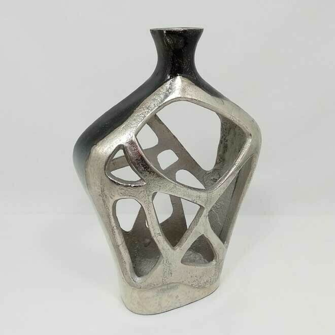 Nickel / Frost Vase