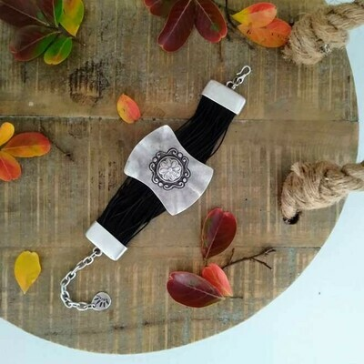 Flower Bracelet/Cuff