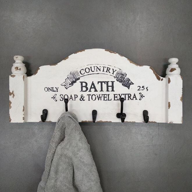 Bath Hook Board