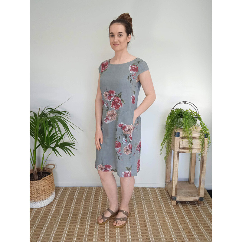 Midi Dress - Vintage Floral