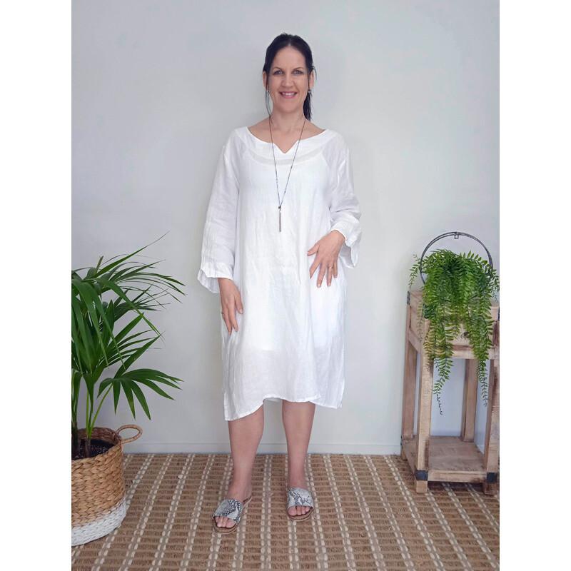 Casual Loose Dress - Plain