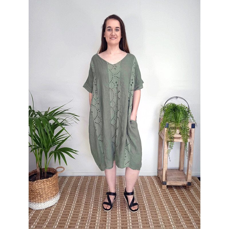 Embroidered Panel Tunic