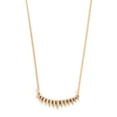 Solar Wide Necklace - Bronze