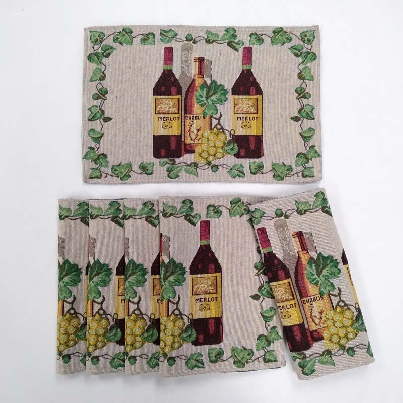 Wine Trio Placemats