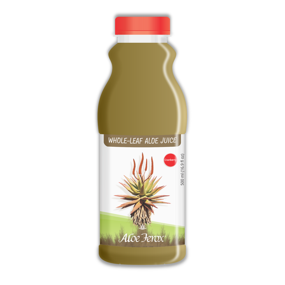 Whole-Leaf Aloe Juice 500ml Cranberry