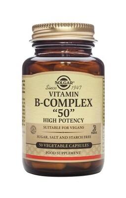 SOLGAR B COMPLEX 50 50 CAPS