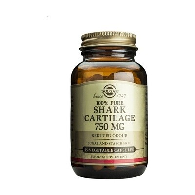 SOLGAR CARTILAGO DE TIBURON 750 MG  45 CAP VEGET