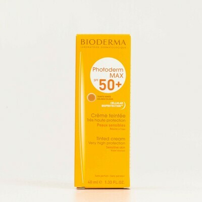 PHOTODERM MAX SPF 50  CREMA COLOR BIODERMA DORADO 40 ML