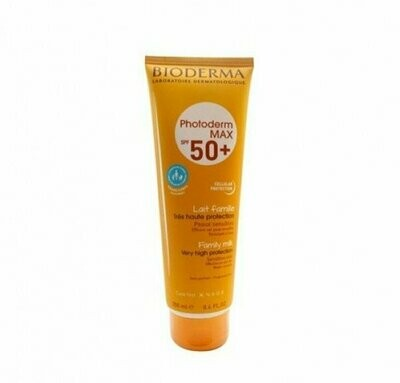 PHOTODERM MAX SPF 50  LECHE FAMILIAR BIODERMA 250 ML