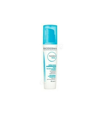 HYDRABIO CREMA RICA BIODERMA DISPENSADOR 40 ML