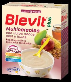 BLEVIT MULTICEREALES FRUTOS SECOS MIEL Y FRUTAS 700 G