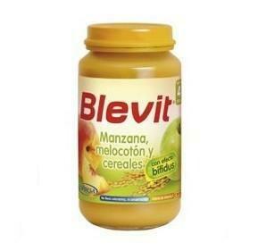 BLEVIT MANZANA MELOCOTON Y CEREALES 250 G