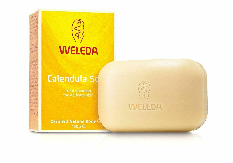 WELEDA JABON VEGETAL CALENDULA 100 G