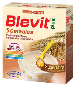 BLEVIT PLUS SUPERFIBRA PAPILLA 5 CEREALES 600 G