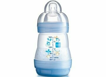 BIBERON ANTICOLICO MAM ANTICOLIC EASY START 160 ML AZUL