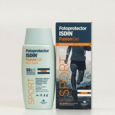FOTOPROTECTOR ISDIN SPF-50  FUSION GEL BODY 100 ML