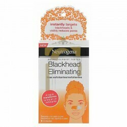 NEUTROGENA BLACKHEAD ELIMINATING TIRAS EXFOLIANTES 6 U