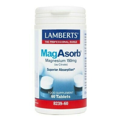 LAMBERTS MAGABSORB 60 TABLETAS