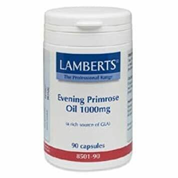 LAMBERTS PURE EVENING PRIMROSE OIL 1000 MG 90 CAPS