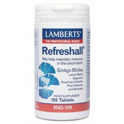 LAMBERTS REFRESHALL 120TABLETAS