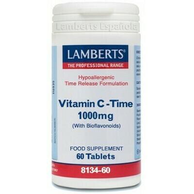 LAMBERTS VITAMINA C  TIME   1000 MG 60 TABL