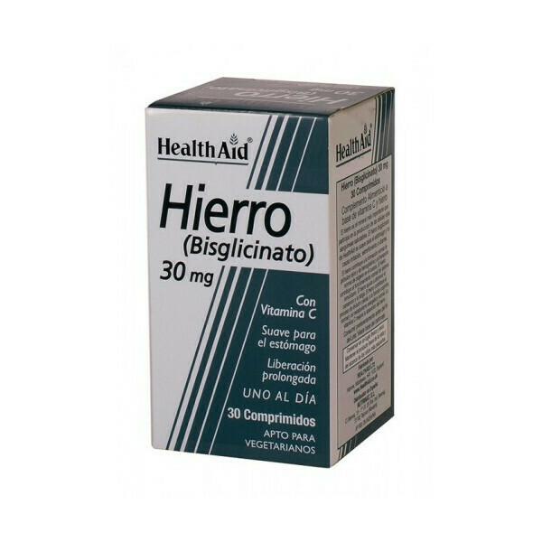 HEALTH AID HIERRO BISGLICINATO 30 COMP